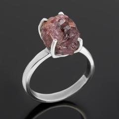 Кольцо турмалин розовый (рубеллит) Бразилия (серебро 925 пр.) размер 16,5