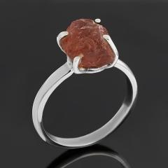 Кольцо турмалин розовый (рубеллит) Бразилия (серебро 925 пр.) размер 18