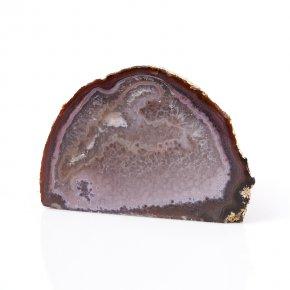 Жеода агат серый Бразилия M (7-12 см)