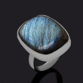Кольцо лабрадор Мадагаскар (серебро 925 пр.) размер 17,5