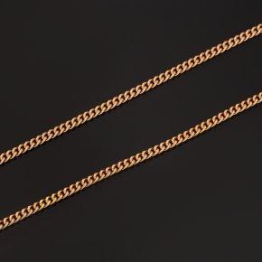 Цепь (серебро 925 пр. позолота) полновесная панцирь 55 см Россия