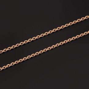 Цепь (серебро 925 пр. позолота) полновесная якорь 55 см Россия