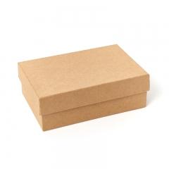 Подарочная упаковка (картон) универсальная (коробка) (бежевый) 155х100х50 мм