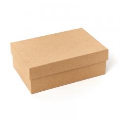 Подарочная упаковка (картон) универсальная (коробка) (бежевый) 175х115х60 мм