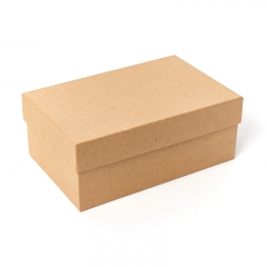 Подарочная упаковка (картон) универсальная (коробка) (бежевый) 195х125х75 мм