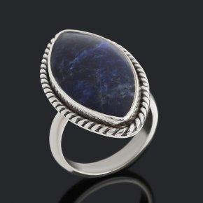 Кольцо содалит Бразилия (серебро 925 пр.) (регулируемый) размер 17