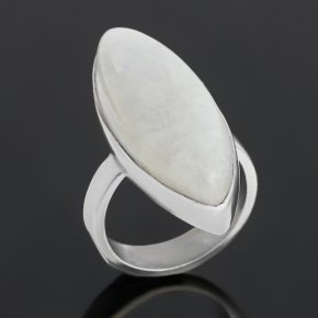Кольцо лунный камень (адуляр) Индия (серебро 925 пр.) размер 16,5