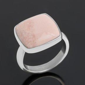 Кольцо опал розовый Перу (серебро 925 пр.) (регулируемый) размер 18