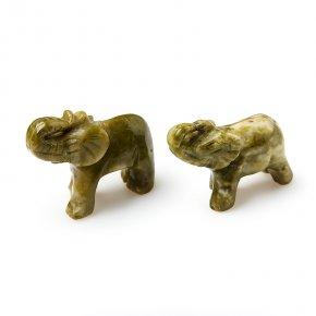 Слон эпидот Перу 2,5-3 см