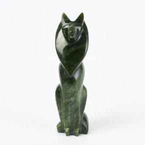 Волк нефрит зеленый Россия 14 см
