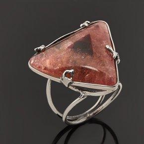 Кольцо турмалин розовый (рубеллит) Россия (серебро 925 пр.) размер 19