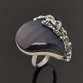 Кольцо лабрадор Мадагаскар (серебро 925 пр.) размер 17