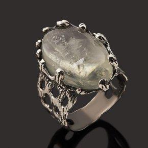 Кольцо празиолит Бразилия (серебро 925 пр.) размер 18