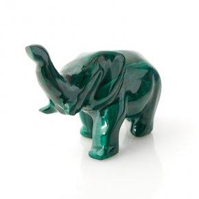 Слон малахит Конго 7,5-8 см