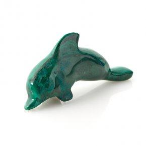 Дельфин малахит Конго 8,5 см