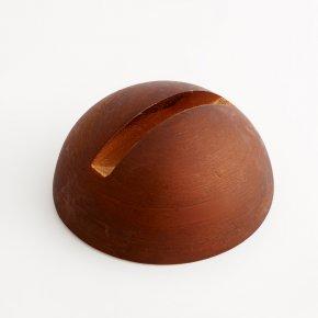 Подставка дерево под срез (коричневый) 7 см