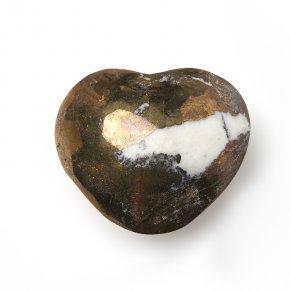Сердечко пирит Перу 5 см