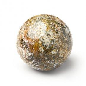 Шар яшма океаническая Мадагаскар 7,5 см