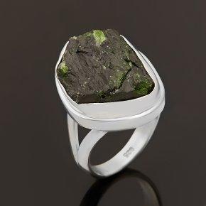 Кольцо хромдиопсид Россия (серебро 925 пр.) размер 18