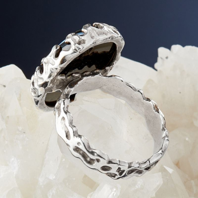 [del] Кольцо агат Бразилия (серебро 925 пр.)  размер 17,5