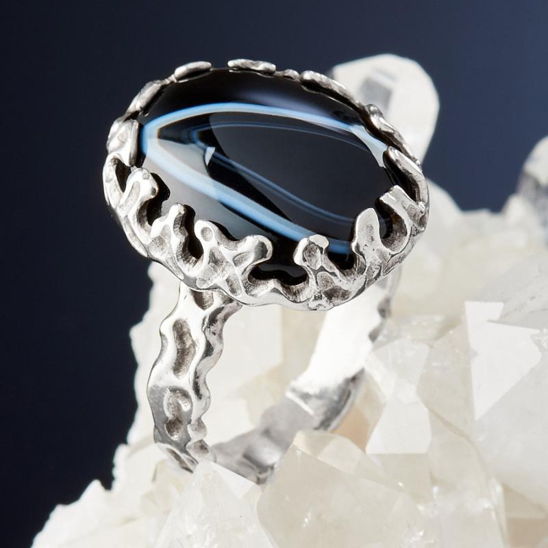 [del] Кольцо агат Бразилия (серебро 925 пр.)  размер 20,5