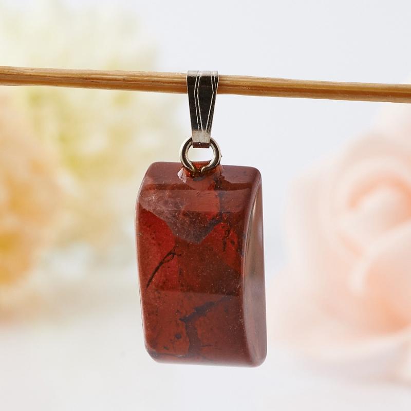 Кулон яшма брекчиевая   (2 см) 1 шт