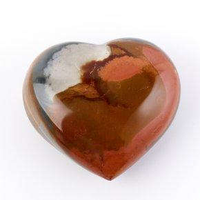 Сердечко яшма пестроцветная Мадагаскар 7,5см