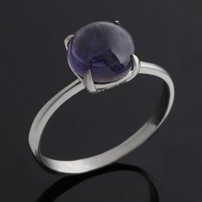 Кольцо иолит (кордиерит) Бразилия (серебро 925 пр.) размер 17,5