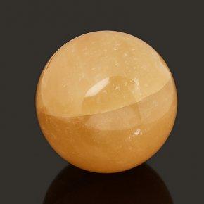 Шар кальцит желтый 7см