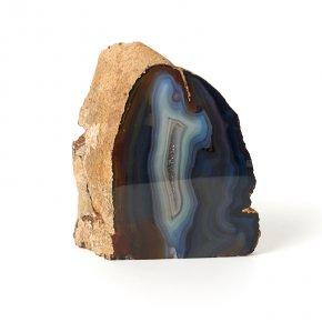 Жеода агат серый Ботсвана L (12-16 см)