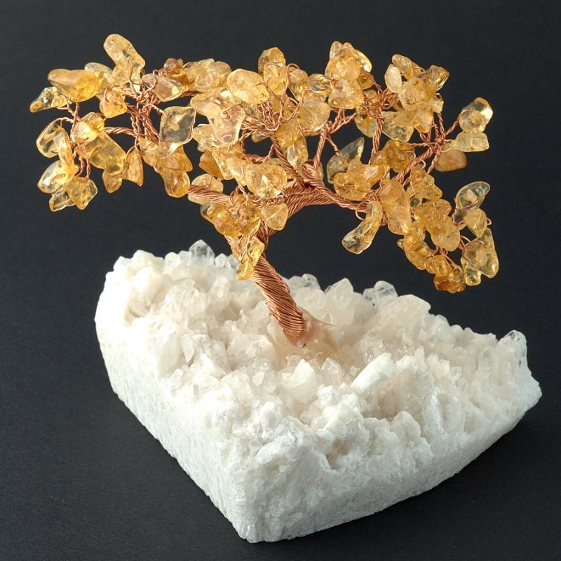 Дерево счастья цитрин Бразилия 9 см