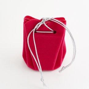 Подарочная упаковка (текстиль) универсальная (мешочек объемный) (микс) 60х50х45мм