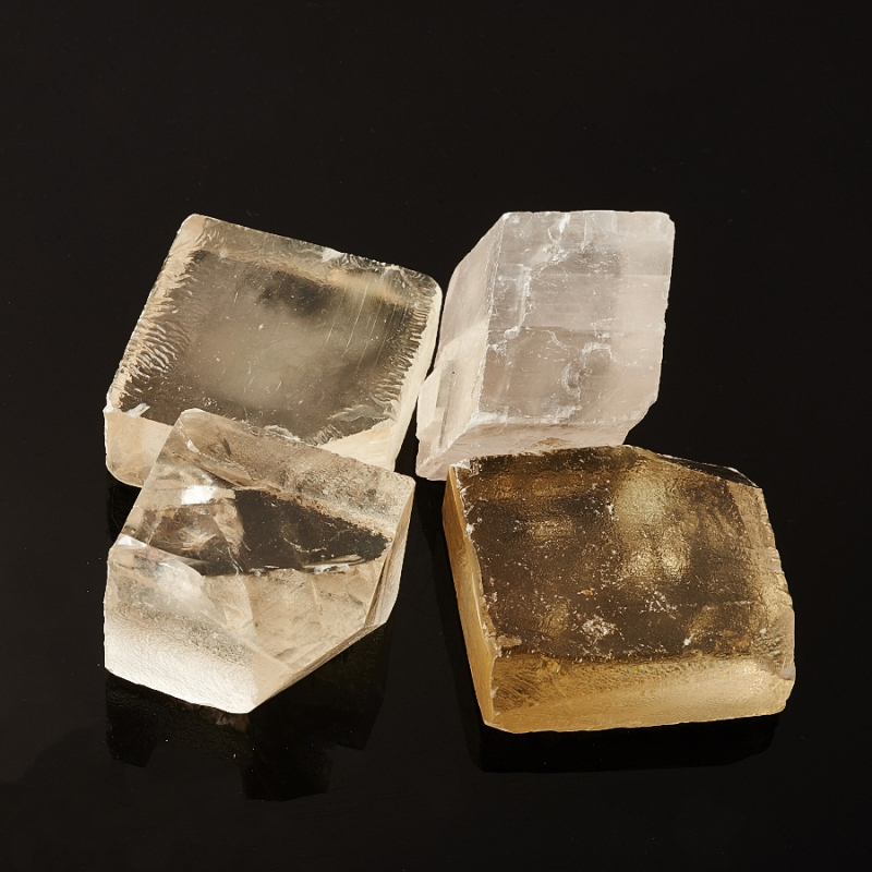 Кристалл кальцит оптический  (4 см) 1 шт