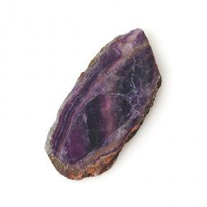 Срез флюорит фиолетовый Китай M (7-12 см)