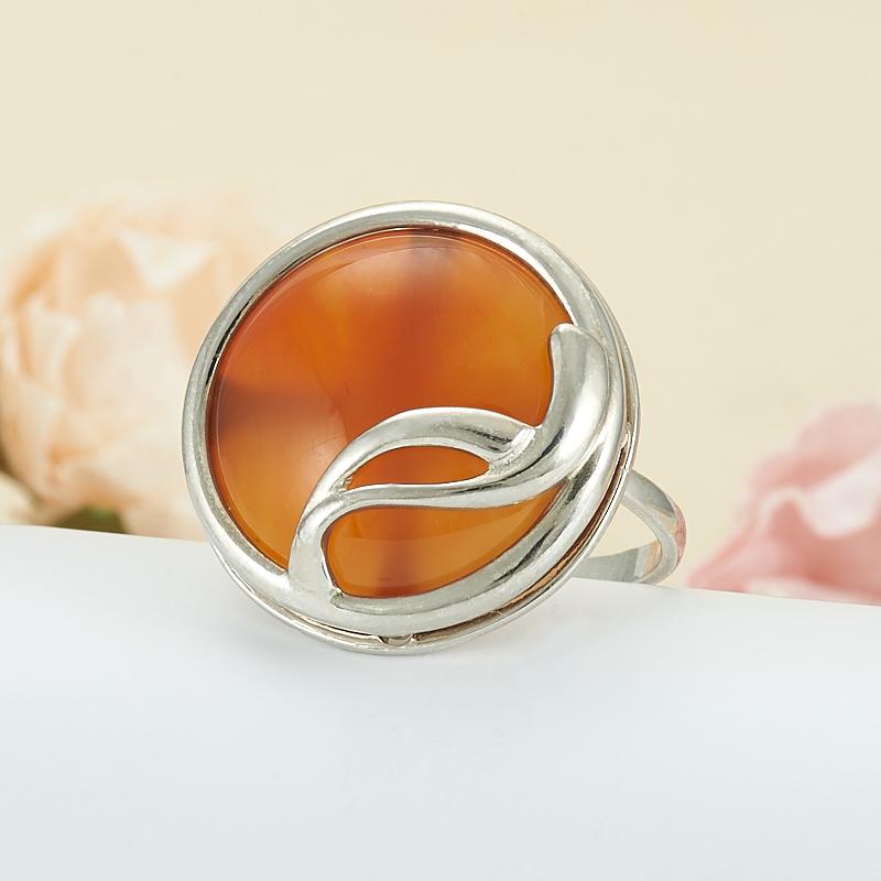 Кольцо сердолик  (серебро 925 пр.)  размер 19 кольцо авантюрин зеленый серебро 925 пр размер 18
