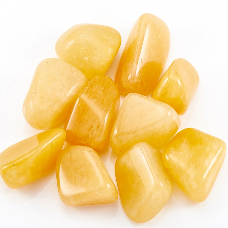 Галтовка авантюрин желтый Индия (2,5-3 см) (1 шт)