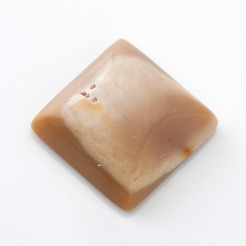 Кабошон яшма (мукаит) 16*16 мм