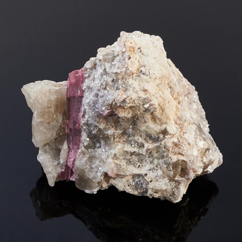Кристалл в породе турмалин  S