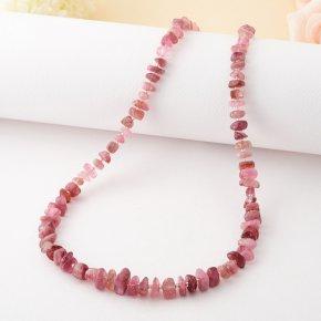 Бусы турмалин розовый Бразилия 48 см