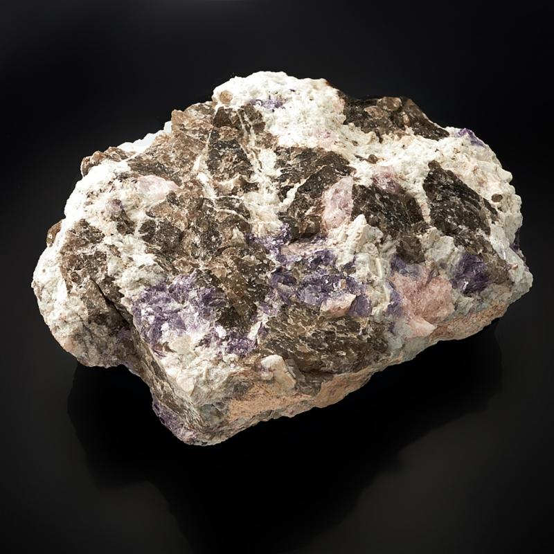 Кристалл в породе берилл (морганит)  17х11х7 см XL