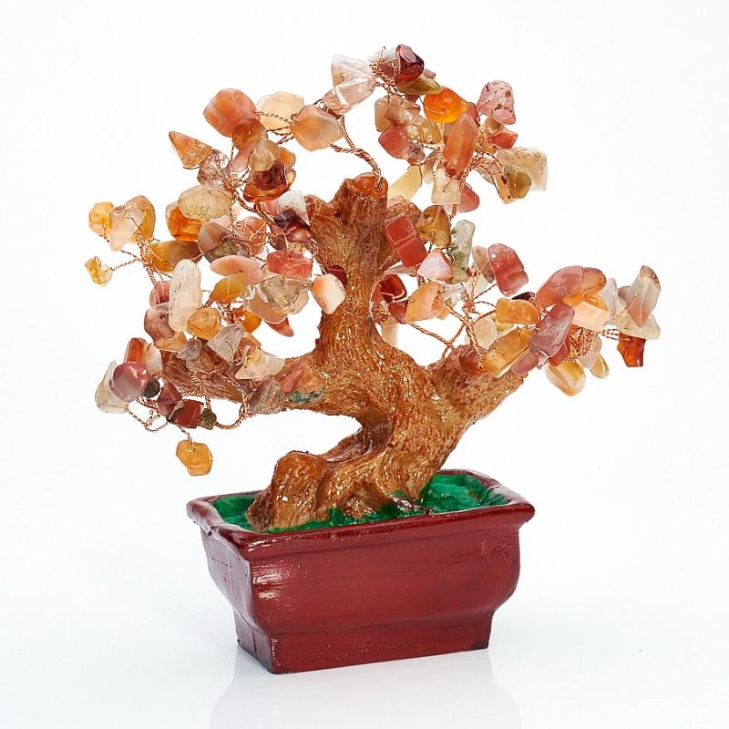 Дерево счастья сердолик  15 см от Mineralmarket
