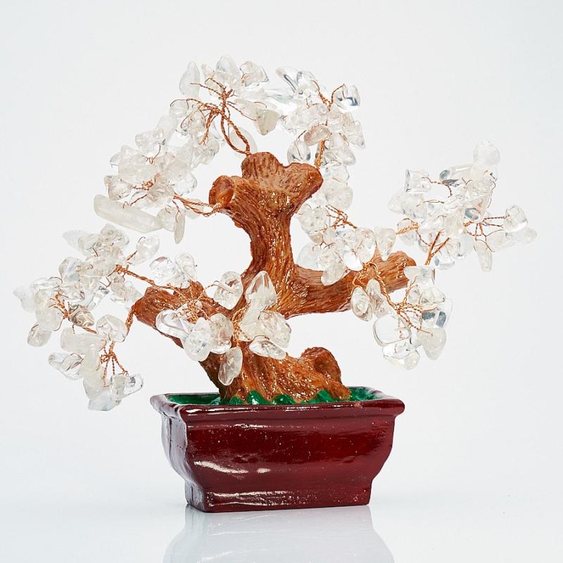 Дерево счастья горный хрусталь  15 см