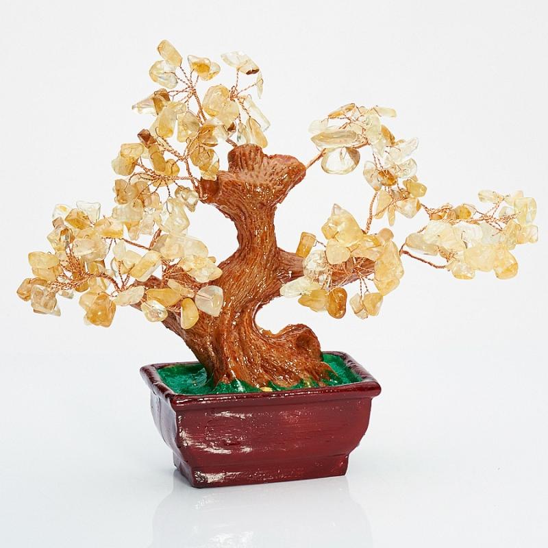 Дерево счастья цитрин Бразилия 15 см