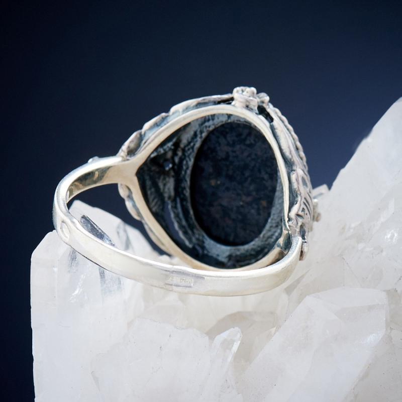 [del] Кольцо бирюза Тибет (серебро 925 пр.)  размер 17,5