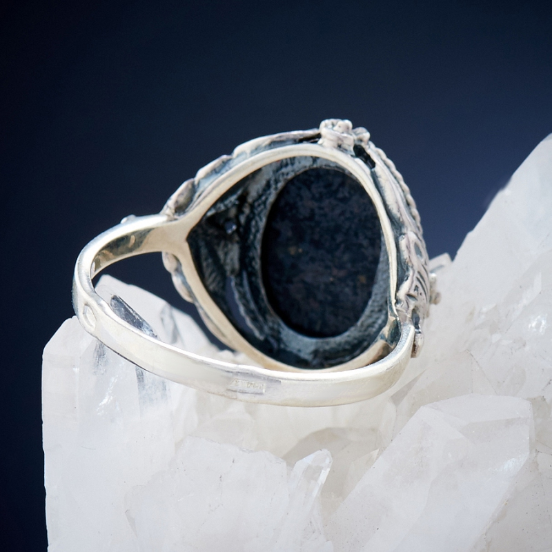 [del] Кольцо бирюза Тибет (серебро 925 пр.)  размер 20