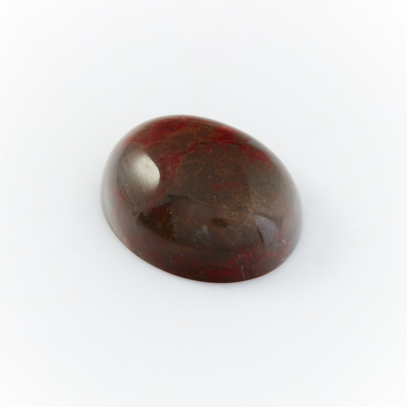 Кабошон яшма брекчиевая  8*10 мм