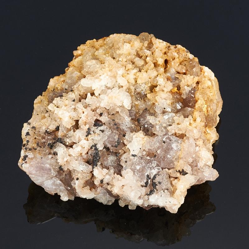 Друза аметист, кварц Россия (Урал) M 93х92х29 мм