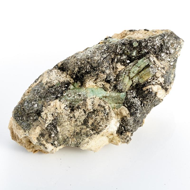 Кристаллы в породе берилл  (Урал) M 120х70х62 мм