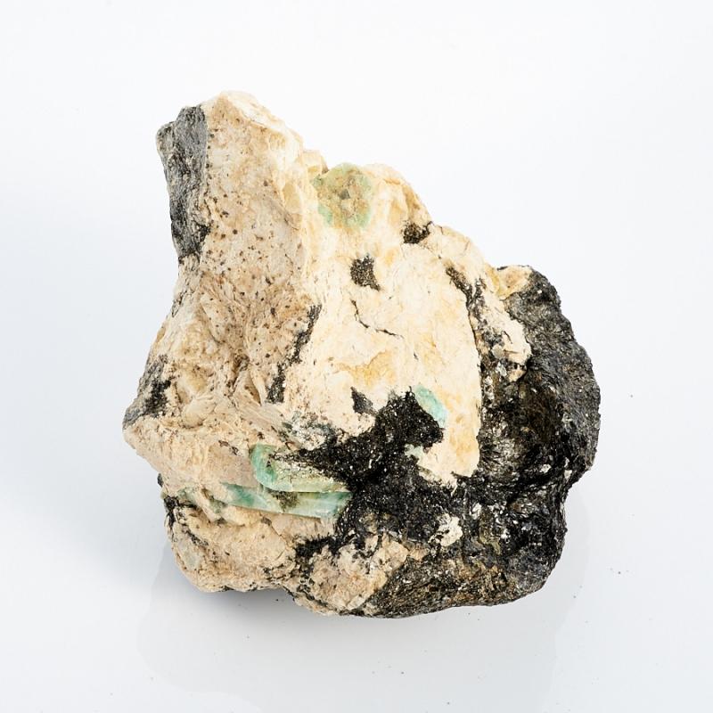 Кристаллы в породе берилл  (Урал) M 110х92х80 мм