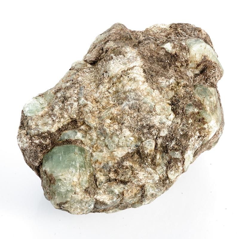 Кристаллы в породе берилл  (Урал) M 110х80х62 мм